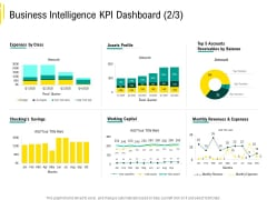 Expert Systems Business Intelligence KPI Dashboard Working Formats PDF