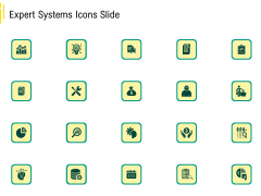 Expert Systems Icons Slide Topics PDF