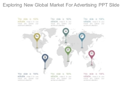 Exploring New Global Market For Advertising Ppt Slide