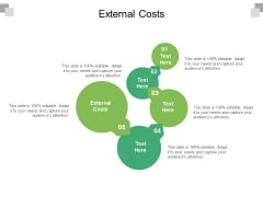 External Costs Ppt PowerPoint Presentation Icon Slide Download Cpb Pdf