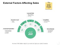 External Factors Affecting Sales Ppt PowerPoint Presentation Pictures Designs