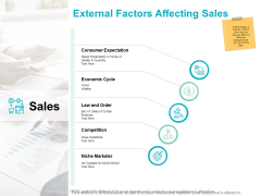 External Factors Affecting Sales Ppt PowerPoint Presentation Styles Microsoft