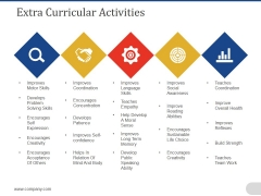 Extra Curricular Activities Template 2 Ppt PowerPoint Presentation Slides