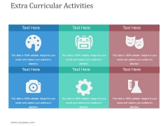 Extra Curricular Activities Template 2 Ppt PowerPoint Presentation Tips