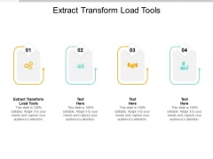 Extract Transform Load Tools Ppt PowerPoint Presentation Model Mockup Cpb Pdf