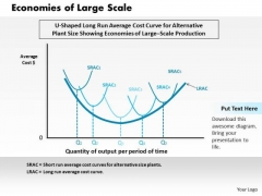 Economies Of Large Scale Business PowerPoint Presentation