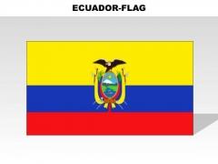Ecuador Country PowerPoint Flags