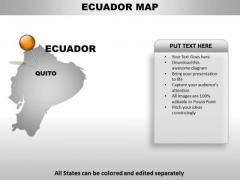 Ecuador Country PowerPoint Maps