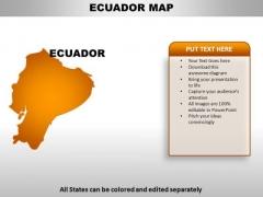 Ecuador PowerPoint Maps