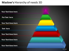 Editable 3d Pyramid PowerPoint Templates Pyramid Diagram Ppt