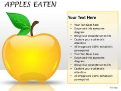 Editable Apple Clipart Slides