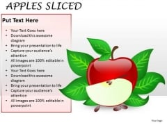 Editable Apple PowerPoint Graphic Slide