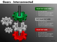 Editable Business Gears PowerPoint Ppt Templates