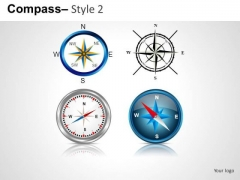 Editable Compass PowerPoint Slides And Ppt Diagram Templates