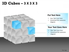 Editable Components 3d Cube PowerPoint Slides And Ppt Diagram Templates