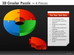 Editable Donut Chart Diagrams And Circle Charts Ppt Slides