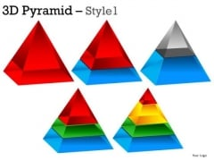 Editable Layers 3d Pyramid PowerPoint Slides And Ppt Diagrams Templates