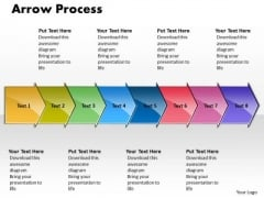 Editable Ppt Arrow Process 8 Power Point Stage Business Plan PowerPoint 1 Image