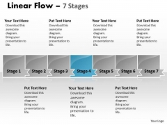 Editable Ppt Parellel Demonstration Of 7 Power Point Stage 5 Design