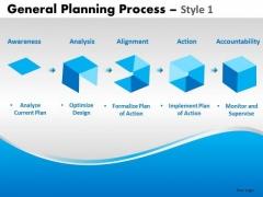 Editable Ppt Slides 5 Steps Building Process Diagram PowerPoint Templates
