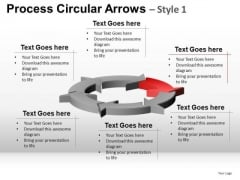 Editable Ppt Templates 6 Circle Arrows Cycle Diagram PowerPoint Slides