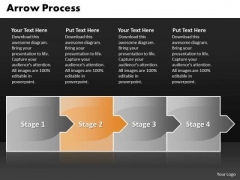 Editable Ppt Theme Arrow Process 4 Stages Business Strategy PowerPoint 3 Graphic