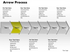 Editable Ppt Theme Arrow Process 7 Power Point Stage Business Communication PowerPoint 3 Image