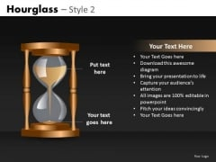 Editable Slides Hourglass Ppt