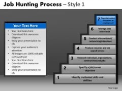 Editable Staircase Diagram PowerPoint Slides Pppt Templates