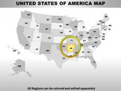 Editable Usa Arkansas State PowerPoint Maps
