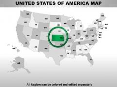 Editable Usa Kansas State PowerPoint Maps