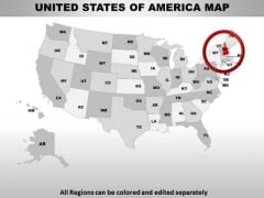 Editable Usa New Hampshire State PowerPoint Maps
