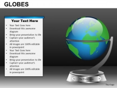 Education School Globes PowerPoint Slides And Ppt Diagram Templates