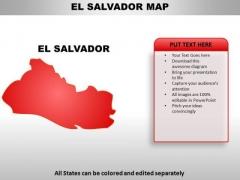 El Salvador PowerPoint Maps