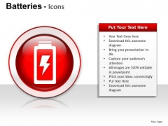 Electric Batteries PowerPoint Slides And Ppt Diagram Templates
