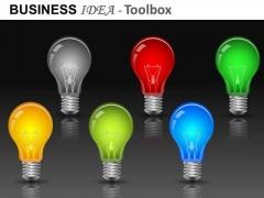 Electricity Light Bulbs Graphics