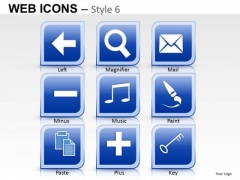 Email Web Icons PowerPoint Slides And Ppt Diagram Templates