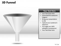 Empty Funnel Diagram PowerPoint Slides Ppt Templates