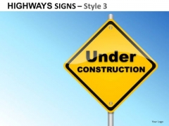 Enterprise Highways Signs 3 PowerPoint Slides And Ppt Diagram Templates