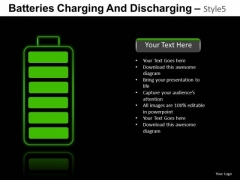 Environmental Batteries Charging 5 PowerPoint Slides And Ppt Diagram Templates