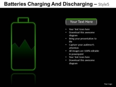 Equipment Batteries Charging 5 PowerPoint Slides And Ppt Diagram Templates