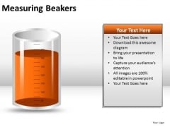 Equipment Measuring Beakers PowerPoint Slides And Ppt Diagram Templates