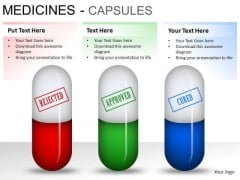Equipment Medical Capsules PowerPoint Slides And Ppt Diagram Templates