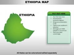 Ethiopia PowerPoint Maps