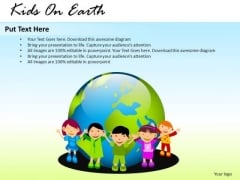 Events Kids On Earth PowerPoint Slides And Ppt Diagram Templates