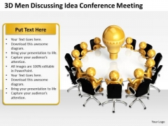 Examples Of Business Processes Conference Meeting PowerPoint Templates Ppt Backgrounds For Slides