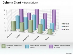 Examples Of Data Analysis Market 3d Business Inspection Procedure Chart PowerPoint Templates