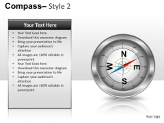 Explore Compass 2 PowerPoint Slides And Ppt Diagram Templates