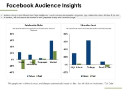 Facebook Audience Insights Ppt PowerPoint Presentation Professional Slide
