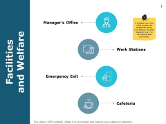 Facilities And Welfare Business Ppt PowerPoint Presentation Professional Summary